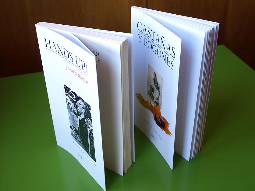 Libro con solapas y sin solapas (offset).