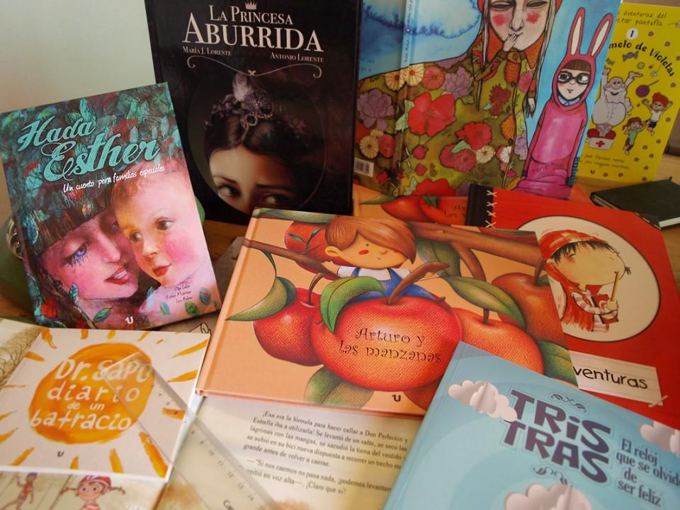 Algunos de los álbumes ilustrados que hemos publicado