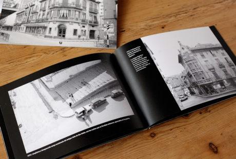 Ejemplo del interior de un libro impreso en calidad láser fotográfica blanco y negro.