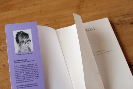 Foto de la hoja de respeto de un libro.